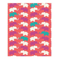 Elephant Shower Curtain 60  X 72  (medium)  by AnjaniArt
