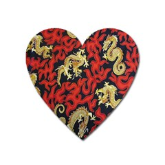 Dragon Heart Magnet by AnjaniArt
