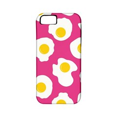 Fried Egg Apple Iphone 5 Classic Hardshell Case (pc+silicone) by AnjaniArt