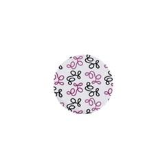 Magenta elegance  1  Mini Buttons by Valentinaart