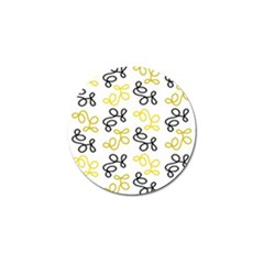 Yellow Elegance Golf Ball Marker (4 Pack) by Valentinaart