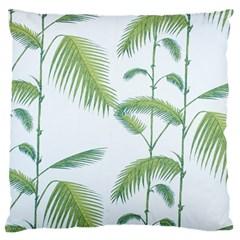 Hawai Tree Large Flano Cushion Case (one Side) by AnjaniArt