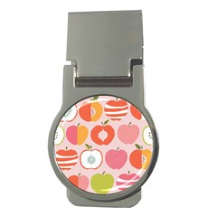 Pink Delicious Organic Canvas Money Clips (round)  by AnjaniArt