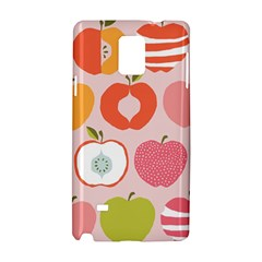 Pink Delicious Organic Canvas Samsung Galaxy Note 4 Hardshell Case by AnjaniArt