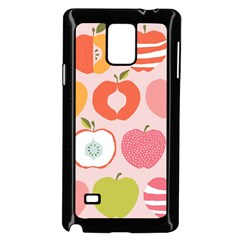 Pink Delicious Organic Canvas Samsung Galaxy Note 4 Case (black) by AnjaniArt