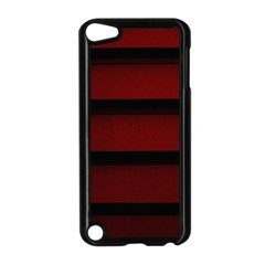 Line Red Black Apple iPod Touch 5 Case (Black) by AnjaniArt