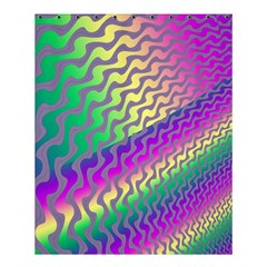 Line Colour Wiggles Shower Curtain 60  X 72  (medium)  by AnjaniArt