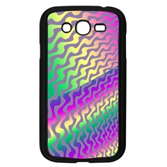 Line Colour Wiggles Samsung Galaxy Grand Duos I9082 Case (black) by AnjaniArt