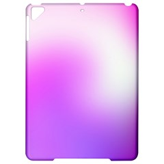 Purple White Background Bright Spots Apple iPad Pro 9.7   Hardshell Case by AnjaniArt