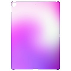 Purple White Background Bright Spots Apple iPad Pro 12.9   Hardshell Case by AnjaniArt
