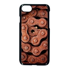 Motorcycle Chain Apple Iphone 7 Seamless Case (black) by AnjaniArt