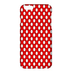 Red Circular Pattern Apple Iphone 6 Plus/6s Plus Hardshell Case by AnjaniArt