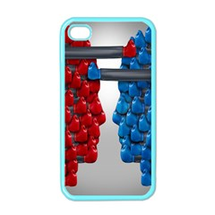 Red Boxing Gloves And A Competing Apple Iphone 4 Case (color) by AnjaniArt