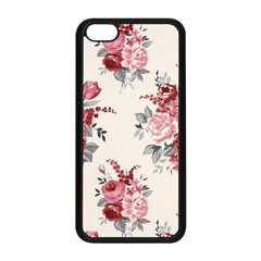 Rose Beauty Flora Apple Iphone 5c Seamless Case (black) by AnjaniArt