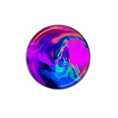The Perfect Wave Pink Blue Red Cyan Hat Clip Ball Marker (10 Pack) by EDDArt