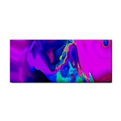 The Perfect Wave Pink Blue Red Cyan Cosmetic Storage Cases by EDDArt
