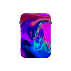 The Perfect Wave Pink Blue Red Cyan Apple Ipad Mini Protective Soft Cases by EDDArt