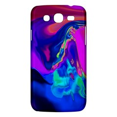 The Perfect Wave Pink Blue Red Cyan Samsung Galaxy Mega 5 8 I9152 Hardshell Case  by EDDArt