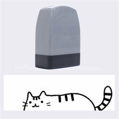 Fat Cat Name Stamps by Onesevenart