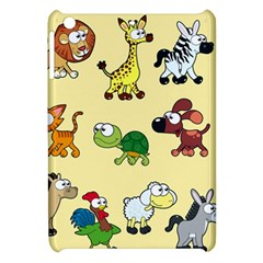 Group Of Animals Graphic Apple Ipad Mini Hardshell Case by Onesevenart