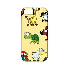 Group Of Animals Graphic Apple Iphone 5 Classic Hardshell Case (pc+silicone) by Onesevenart