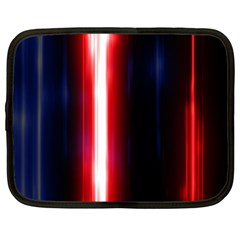 Lights Pattern Netbook Case (xl)  by Onesevenart