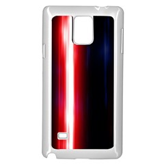 Lights Pattern Samsung Galaxy Note 4 Case (white) by Onesevenart