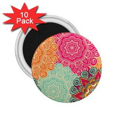 Art Abstract Pattern 2 25  Magnets (10 Pack)  by Onesevenart