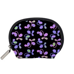 Purple Garden Accessory Pouches (small)  by Valentinaart