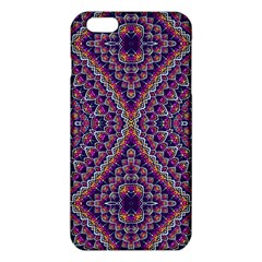 Purple Dotted Mosaic Iphone 6 Plus/6s Plus Tpu Case by KirstenStar