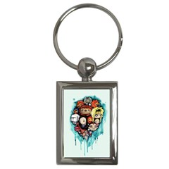 Should You Need Us 2 0 Key Chains (rectangle)  by lvbart