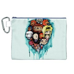 Should You Need Us 2 0 Canvas Cosmetic Bag (xl) by lvbart