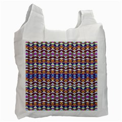 Ethnic Colorful Pattern Recycle Bag (one Side) by dflcprints