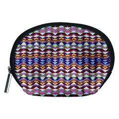 Ethnic Colorful Pattern Accessory Pouches (medium)  by dflcprints