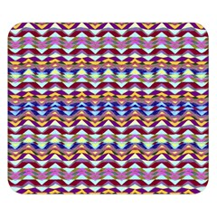 Ethnic Colorful Pattern Double Sided Flano Blanket (small)  by dflcprints