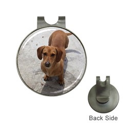 Dachshund Full Hat Clips with Golf Markers by TailWags