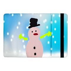 Christmas Snowman Samsung Galaxy Tab Pro 10.1  Flip Case by Zeze