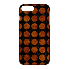 Circles1 Black Marble & Brown Marble Apple Iphone 7 Plus Hardshell Case by trendistuff