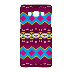 Rhombus And Ovals Chains                                                                                                              samsung Galaxy A5 Hardshell Case by LalyLauraFLM