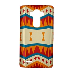 Mirrored Shapes In Retro Colors                                                                                                                lg G4 Hardshell Case by LalyLauraFLM