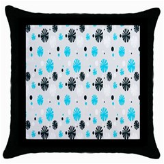Christmas  Throw Pillow Case (black) by Onesevenart