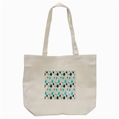 Christmas  Tote Bag (cream) by Onesevenart