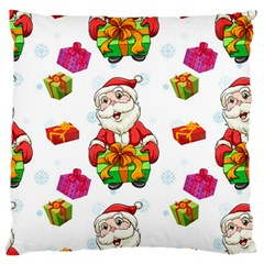 Xmas Patterns  Standard Flano Cushion Case (two Sides)