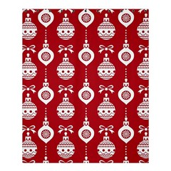 Abstract Christmas Seamless Background Vector Graphic Shower Curtain 60  X 72  (medium)  by Onesevenart