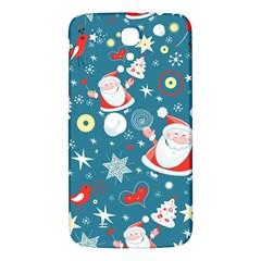 Christmas Stockings Vector Pattern Samsung Galaxy Mega I9200 Hardshell Back Case by Onesevenart