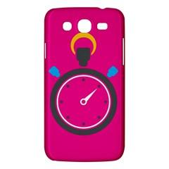 Alarm Clock Houre Samsung Galaxy Mega 5 8 I9152 Hardshell Case  by AnjaniArt