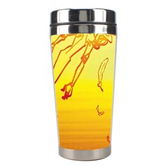 Angel Stainless Steel Travel Tumblers by AnjaniArt