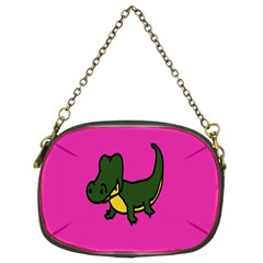 Crocodile Chain Purses (two Sides)  by AnjaniArt