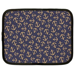 Anchor Ship Netbook Case (xxl)  by AnjaniArt