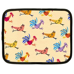 Chicken Netbook Case (xxl)  by AnjaniArt